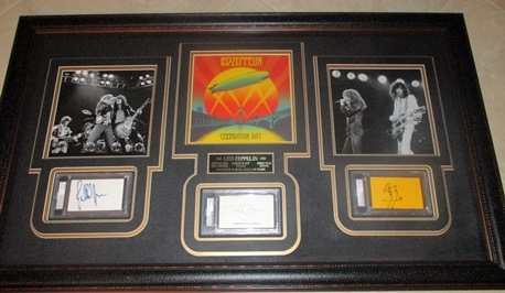 Led Zeppelin display