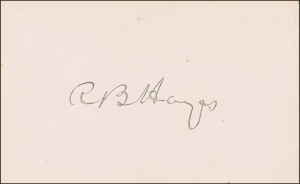 Rutherford B. Hayes Signature